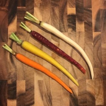 Glazed Rainbow Carrots